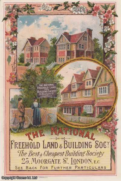 The National Freehold Land & Building Society. 25 Moorgate St., London., ---