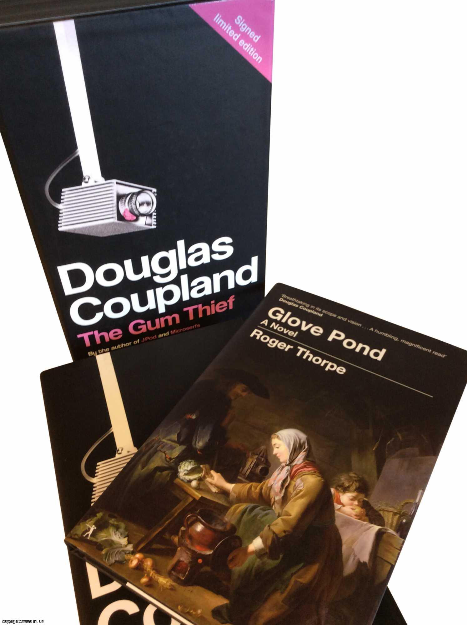 The Gum Thief and Glove Pond. In a slipcase. LIMITED EDITION HARDBACKS., Coupland, Douglas