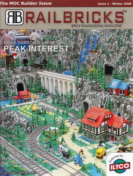 SPURGEON, JERAMY - Lego. Railbricks. Brick Railroading Journal. Issue 2. Winter 2008.