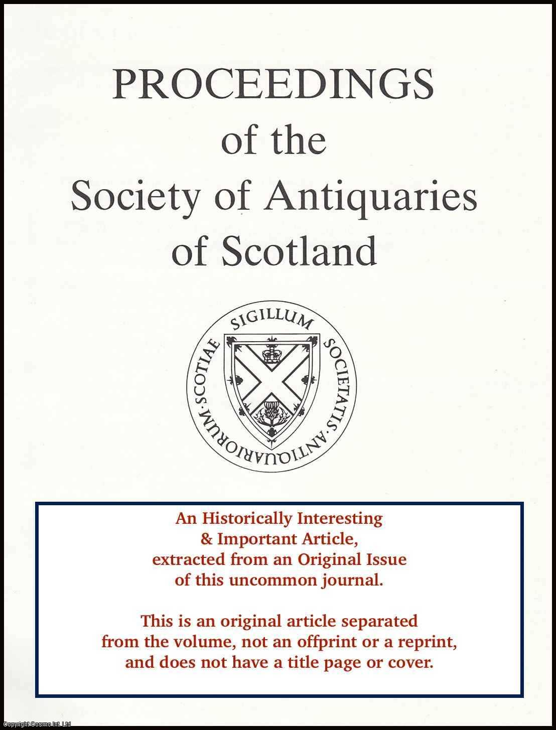 BAILEY, GEOFF B. - Stream Crossings on The Antonine Wall. An original article from the Proceedings of the Society of Antiquaries of Scotland, 1996.