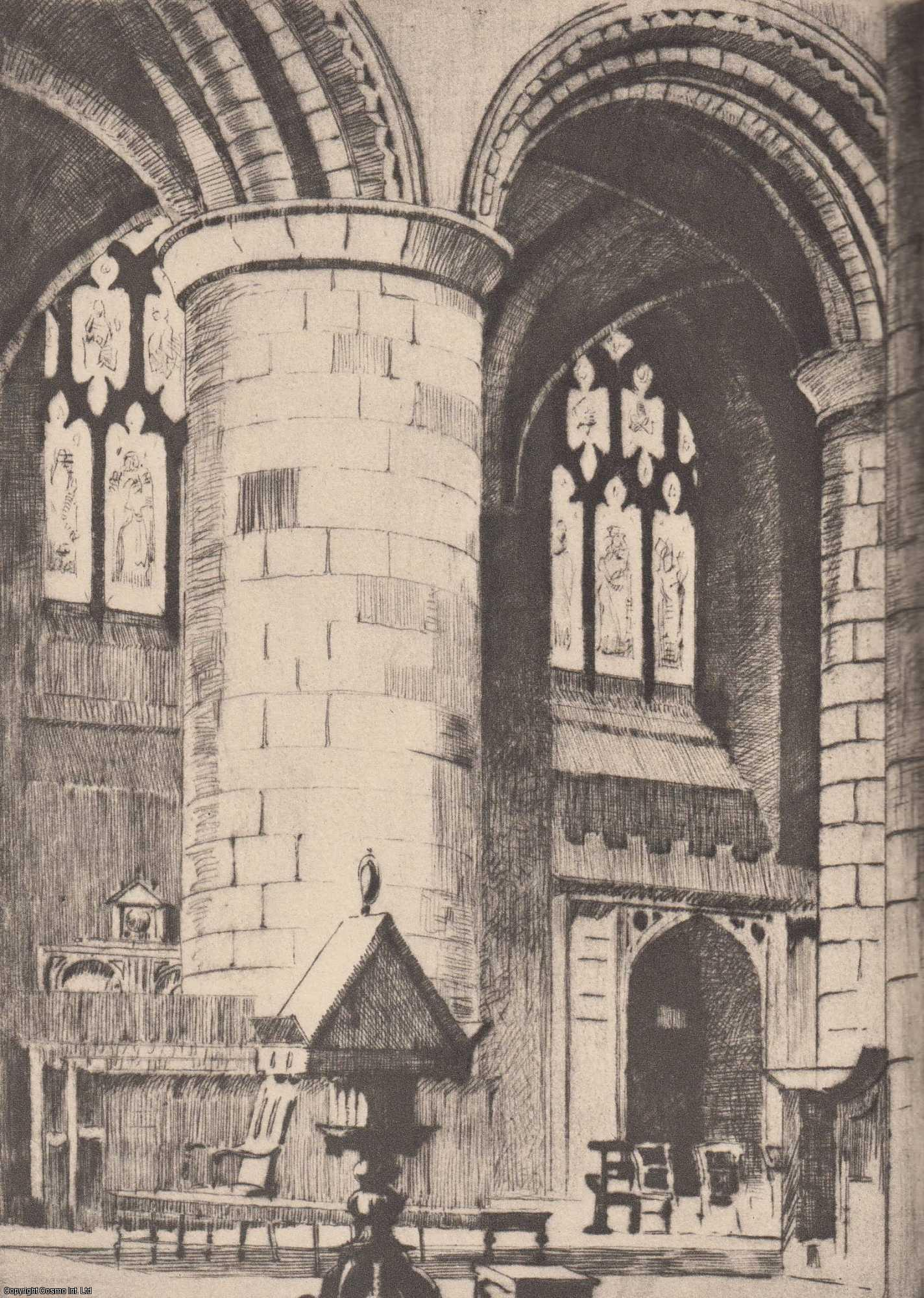 Cathedrals of England: An Artist's Pilgrimage to These Majestic Monuments of Man's Genius and Faith., Wilkinson, Norman