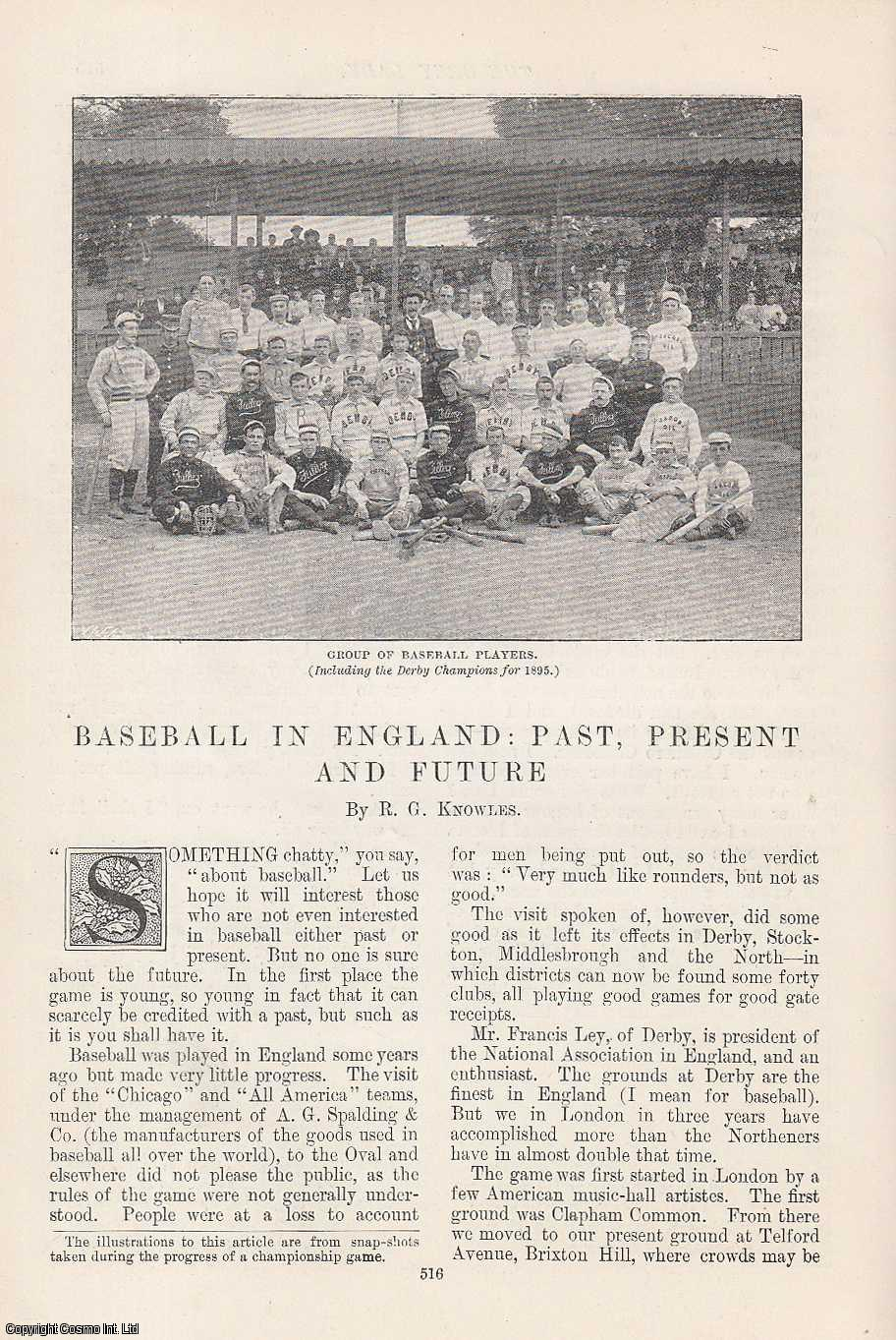 Baseball in England: Past, Present and Future., Knowles, R. G.