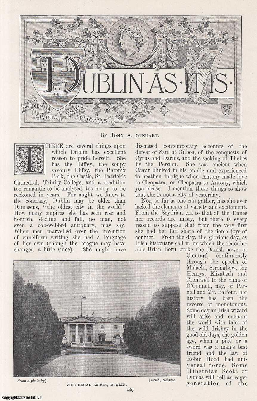 Dublin As It Is., Steuart, John A.