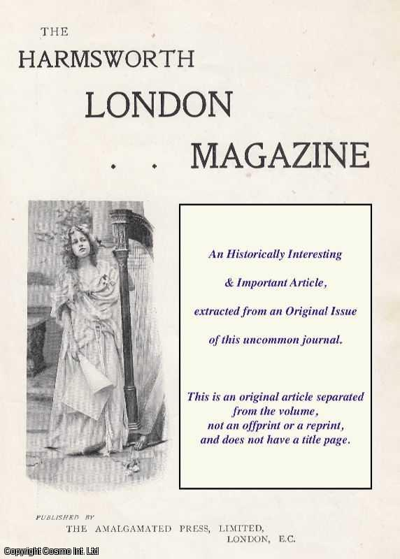 --- - If London Were Like New York. A Peep at The Metropolis After The American Invasion. A rare original article from the Harmsworth London Magazine, 1902.