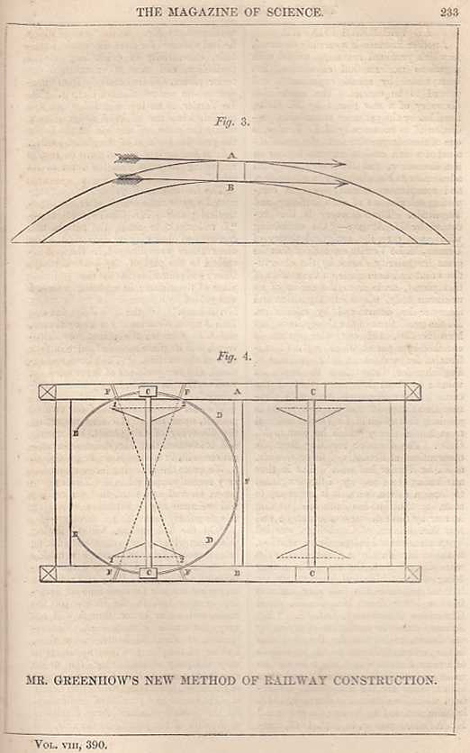 --- - Mr. Greenhow's New Method Of Railway Construction; Professor Schonbein's Explosive Cotton; Sewage Manuire;Rettie's Signal Lamps, etc. Magazine Of Science And School Of Arts. Issue No. 390. A complete rare weekly issue of the Magazine Of Science And School Of Arts., 1847.