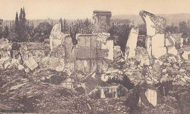 [PRINT]. Earthquake, Mendoza, Argentina. Part of the Ruins of Mendoza, destroyed by the Earthquake of March 20, 1861., ---