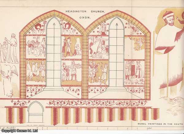 [PRINT]. Headington Church, Oxon. Mural Paintings in the South Aisle., Buckler, G.A.