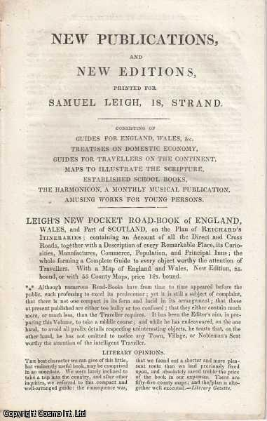 New Publications, and New Editions., Leigh, Samuel
