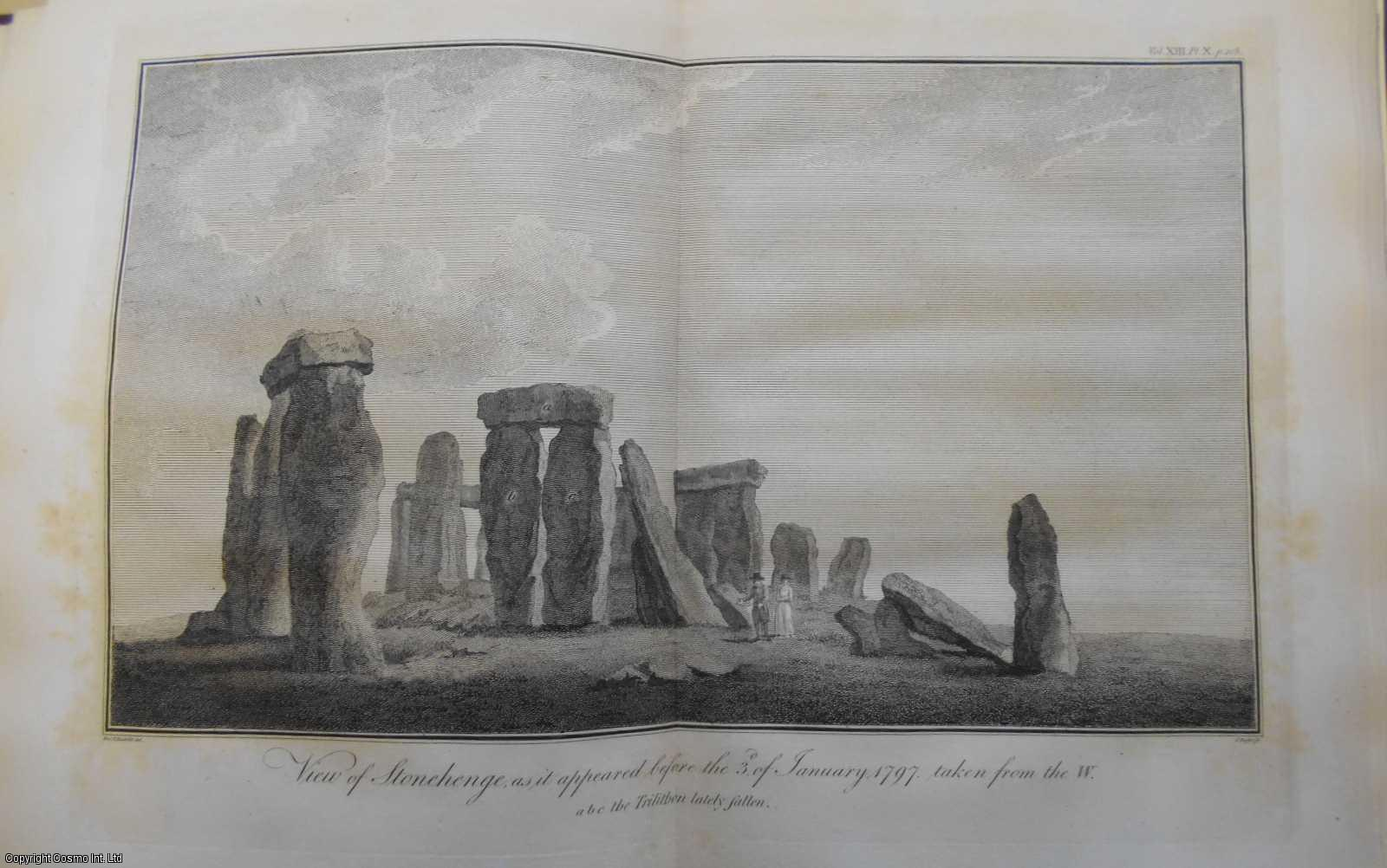 Account of the Fall of some of the stones of Stonehenge, in a Letter from William George Maton, M.B.F.A.S. to Aylmer Bourke Lambert, Efq. F.R.S and F.A.S., ---.