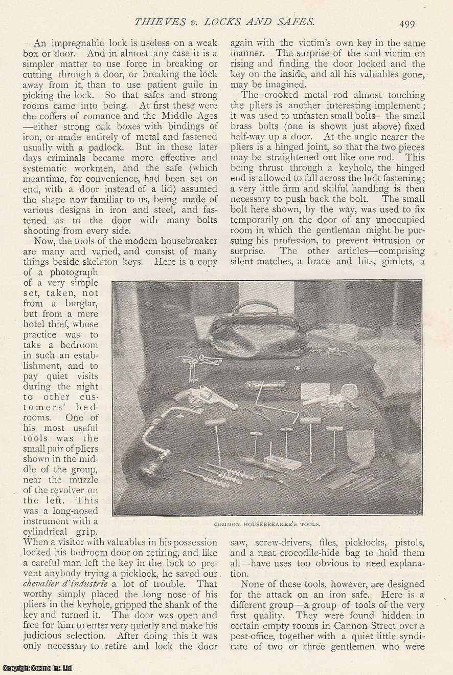 Thieves v. Locks and Safes., ---
