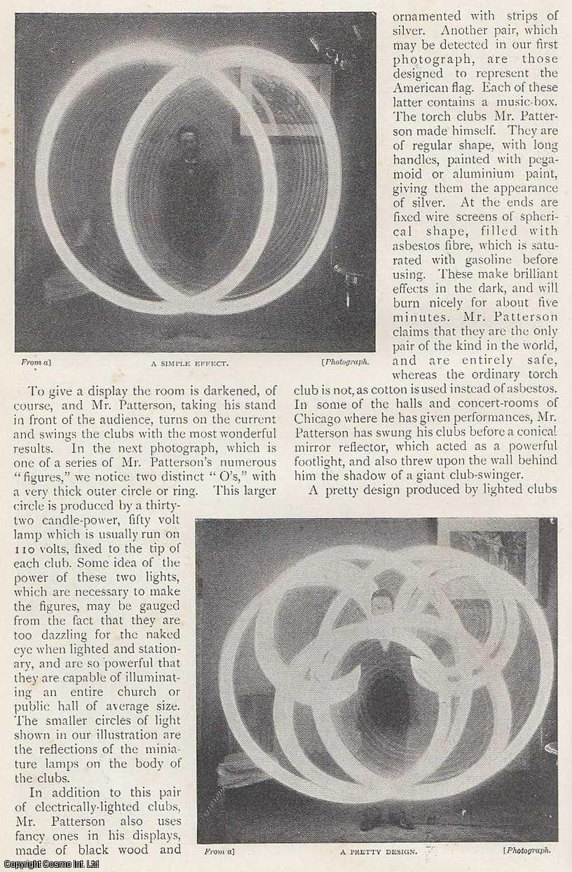 A Curious Electrical Display by George W. Patterson, Chicago., Shepstone, Harold J.
