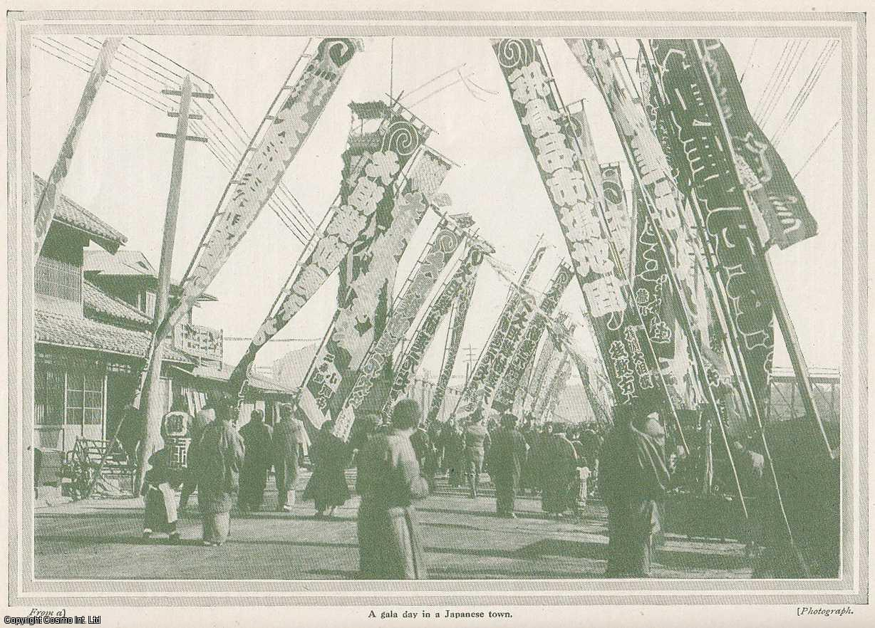 BEADNELL, ELLEN - A Holiday In Japan, 1911. A rare original article from the Wide World Magazine, 1911.