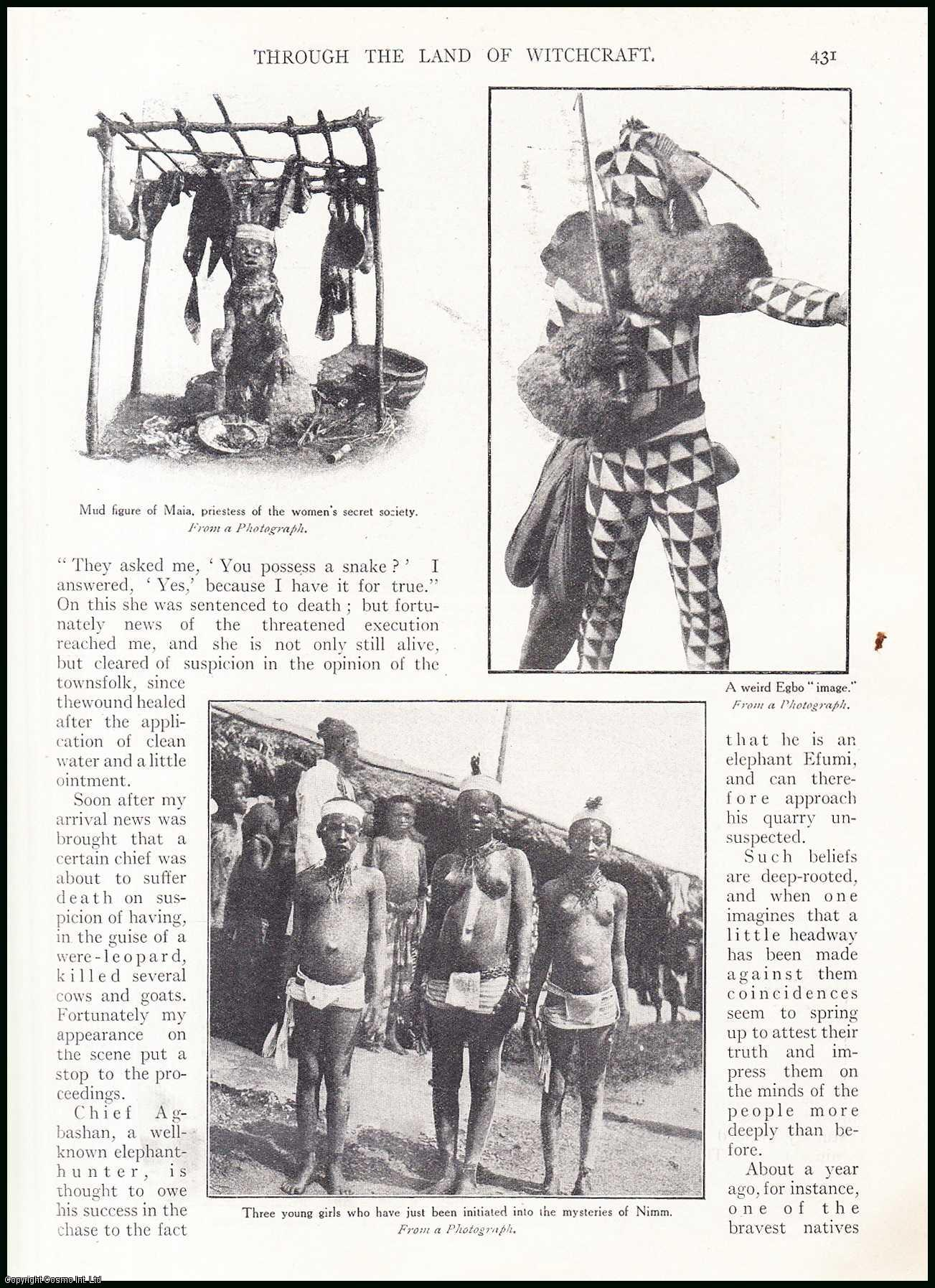 Through The Land of Witchcraft. Ju-Ju Magic in West Coast of Africa., Talbot, P. Amaury