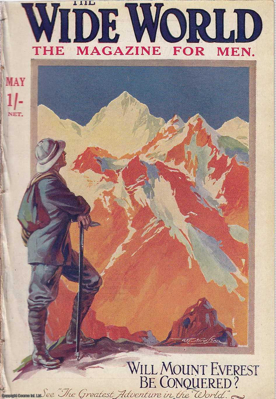 The Conquest of Mount Everest. The Greatest Adventure in The World. Wide World Magazine, May 1921., Abraham, George D.