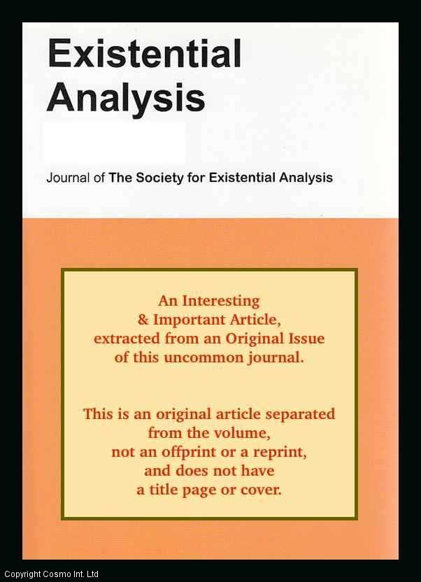 LAMONT, NEIL - The End in Sight: Engaging with an Existential Understanding of Time When Working in Time-Limited Practice. An original article from the Journal of The Society for Existential Analysis, 2012.