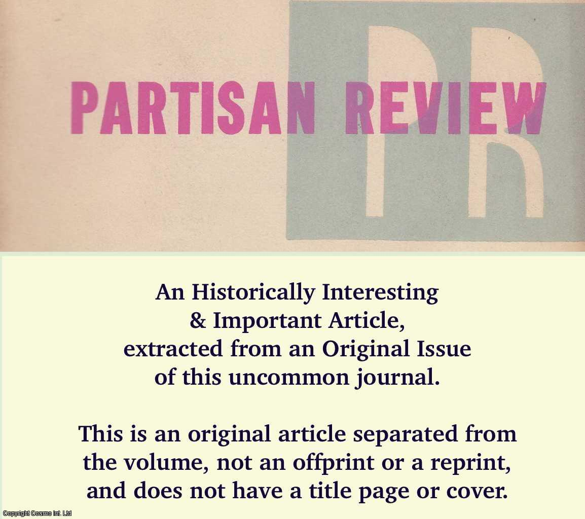 WILLIAMS, TENNESSEE - Rubio Y Morena. An original article from the Partisan Review 1948.