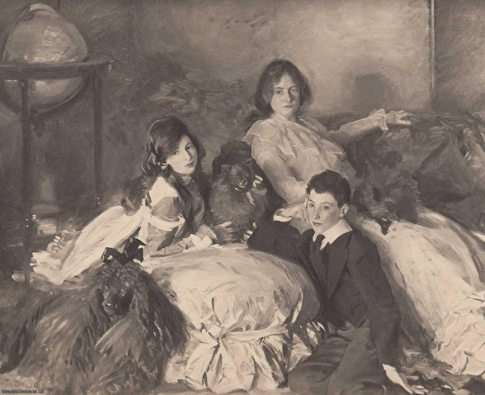 ENGRAVING - Children of A. Wertheimer (The Artist). ENGRAVING ONLY.