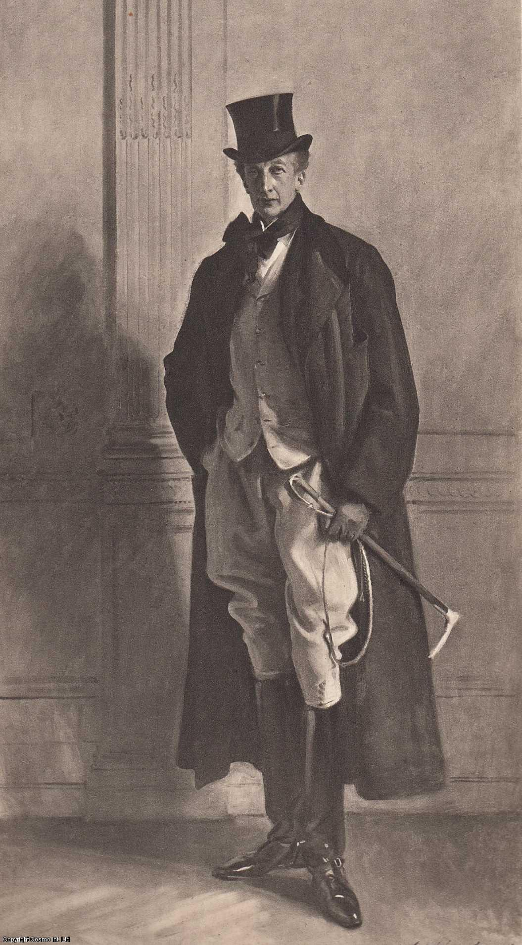 ENGRAVING - The Right Hon. Lord Ribblesdale, Painted by John S. Sargent. (ENGRAVING ONLY).