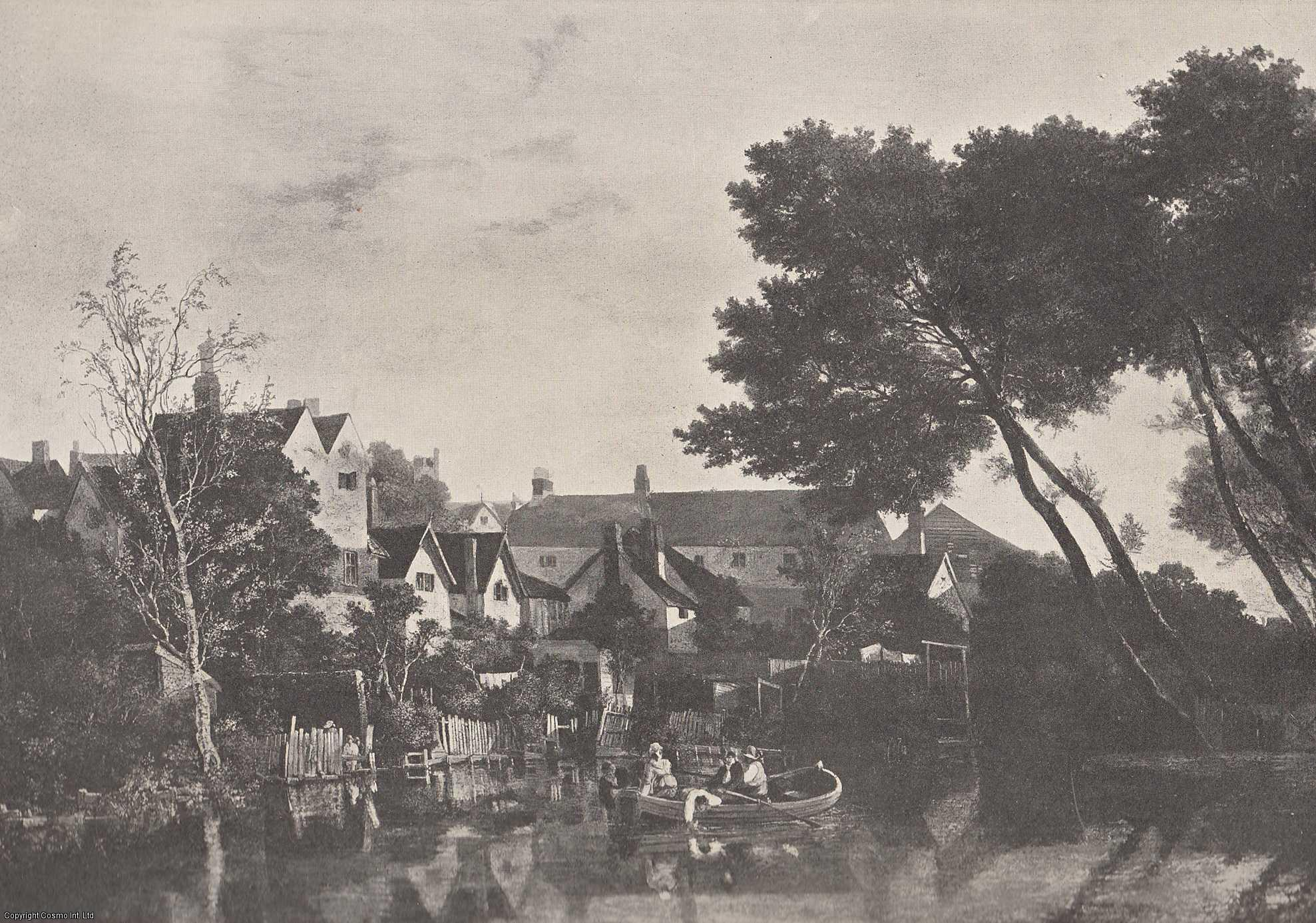 ENGRAVING - Norwich, On The Yare, by John Crome. (ENGRAVING ONLY).