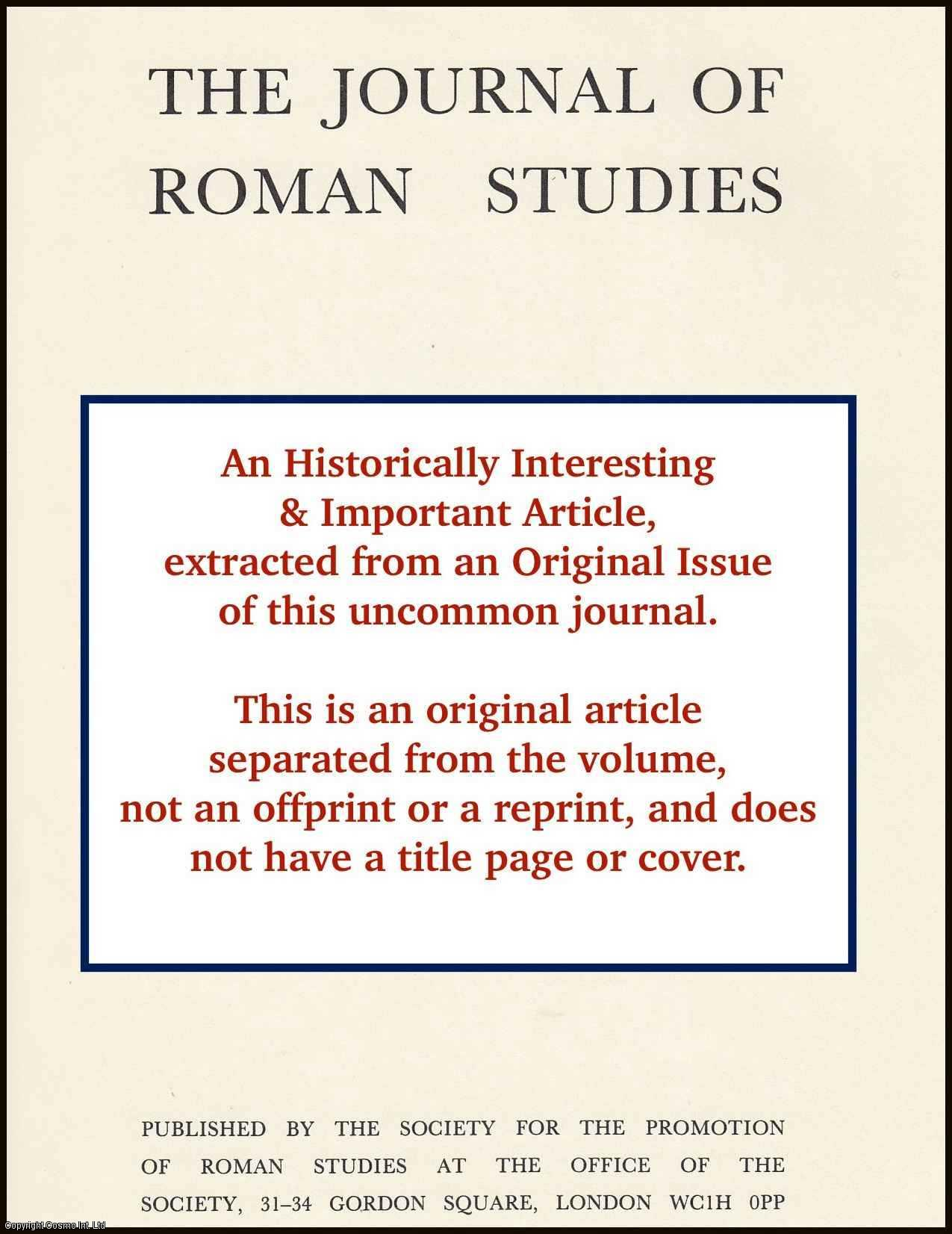 HARRIS, W. V. - A Revisionist View of Roman Money. An original article from the The Journal of Roman Studies 2006.