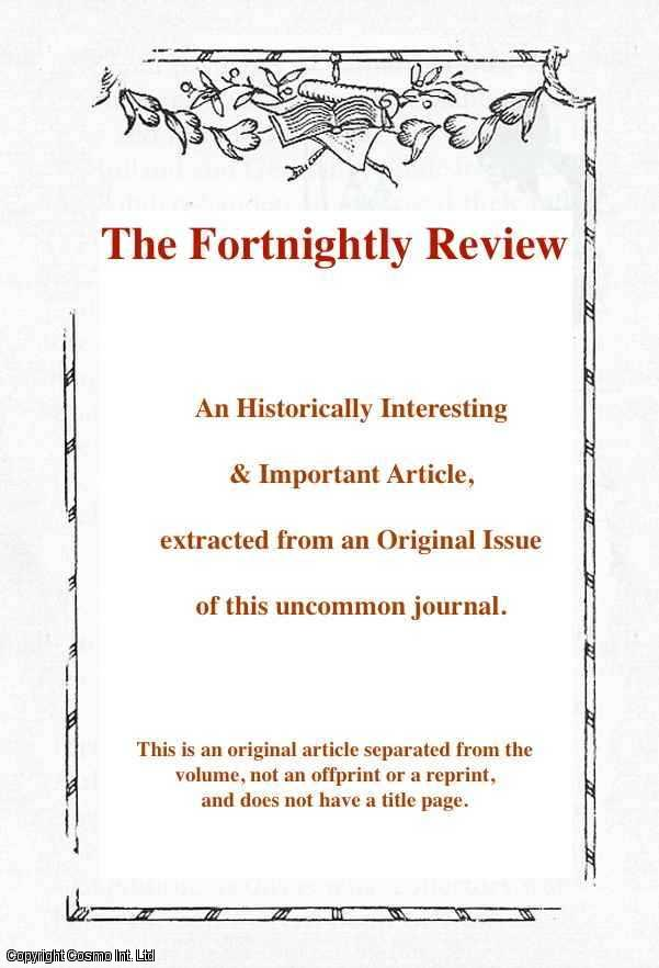 HARRISON, FREDERIC - The Monarchy. An original article from the Fortnightly Review 1872.