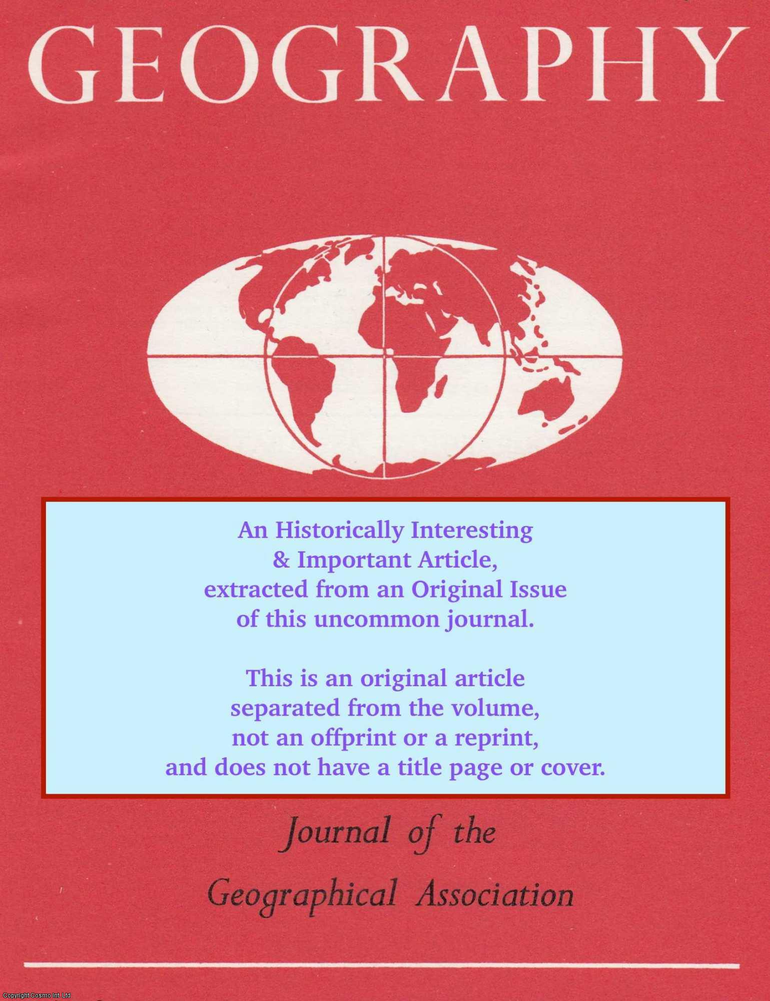 BAILEY, P. J. M. - The Organization and Management of Geography Departments in Comprehensive Schools. An original article from The Journal of The Geographical Association, 1972.