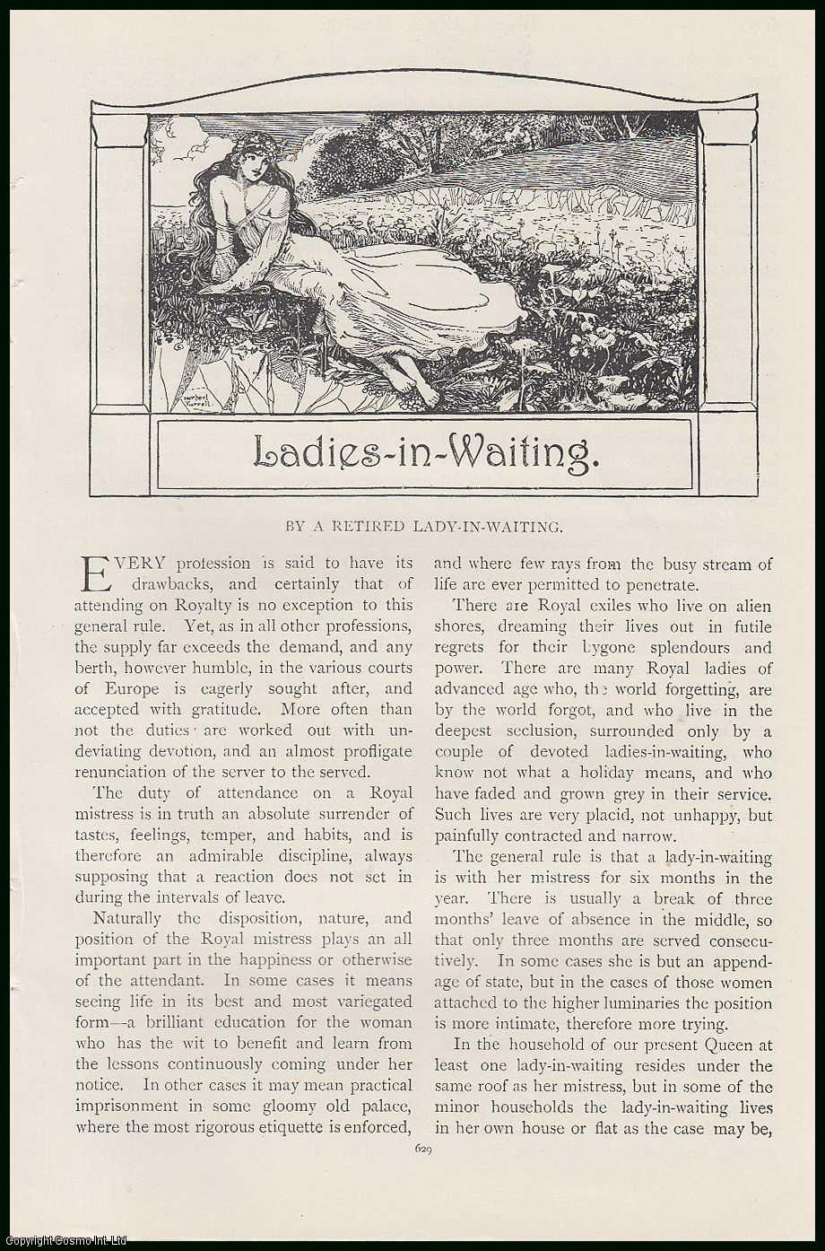 --- - Ladies in Waiting. An original article from the Lady's Realm 1906.