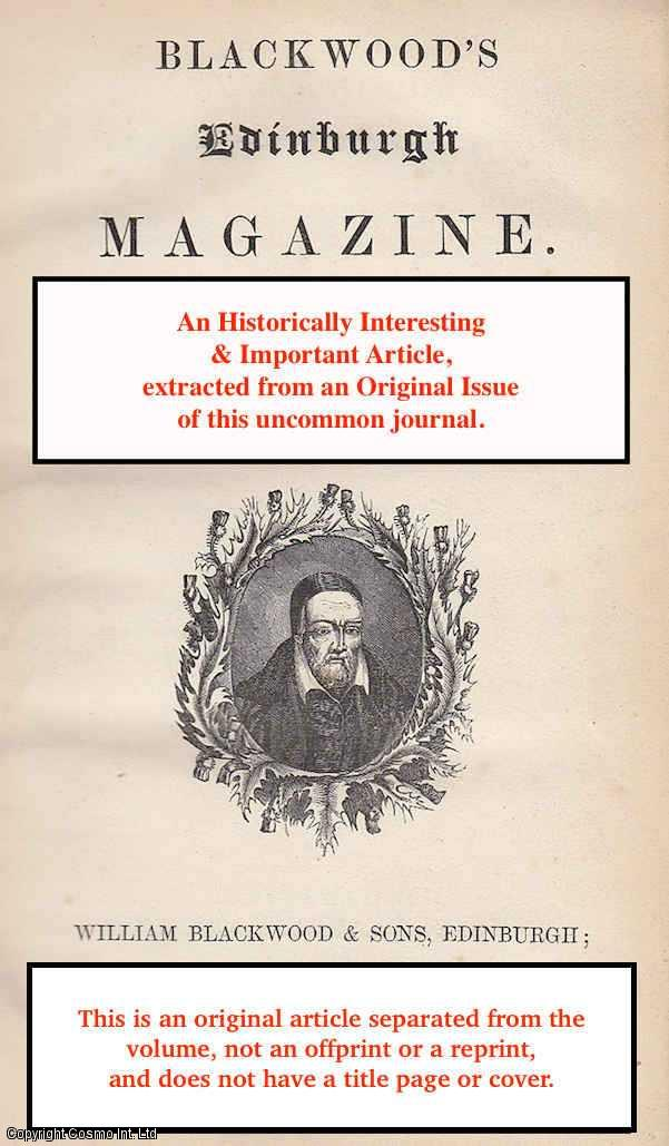 ALISON, ARCHIBALD - Marshal Ney's Memoirs: A summary and review. A rare original article from the Blackwood's Edinburgh Magazine, 1833.