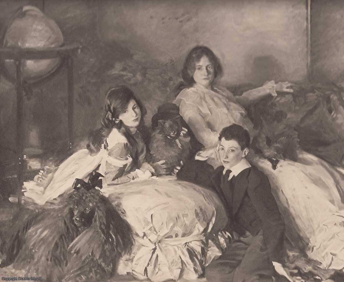 ENGRAVING - Children of A. Wertheimer Esq. Painted by J.S. Sargent, R.A. (ENGRAVING ONLY). An original engraving from the The Art journal, 1902.