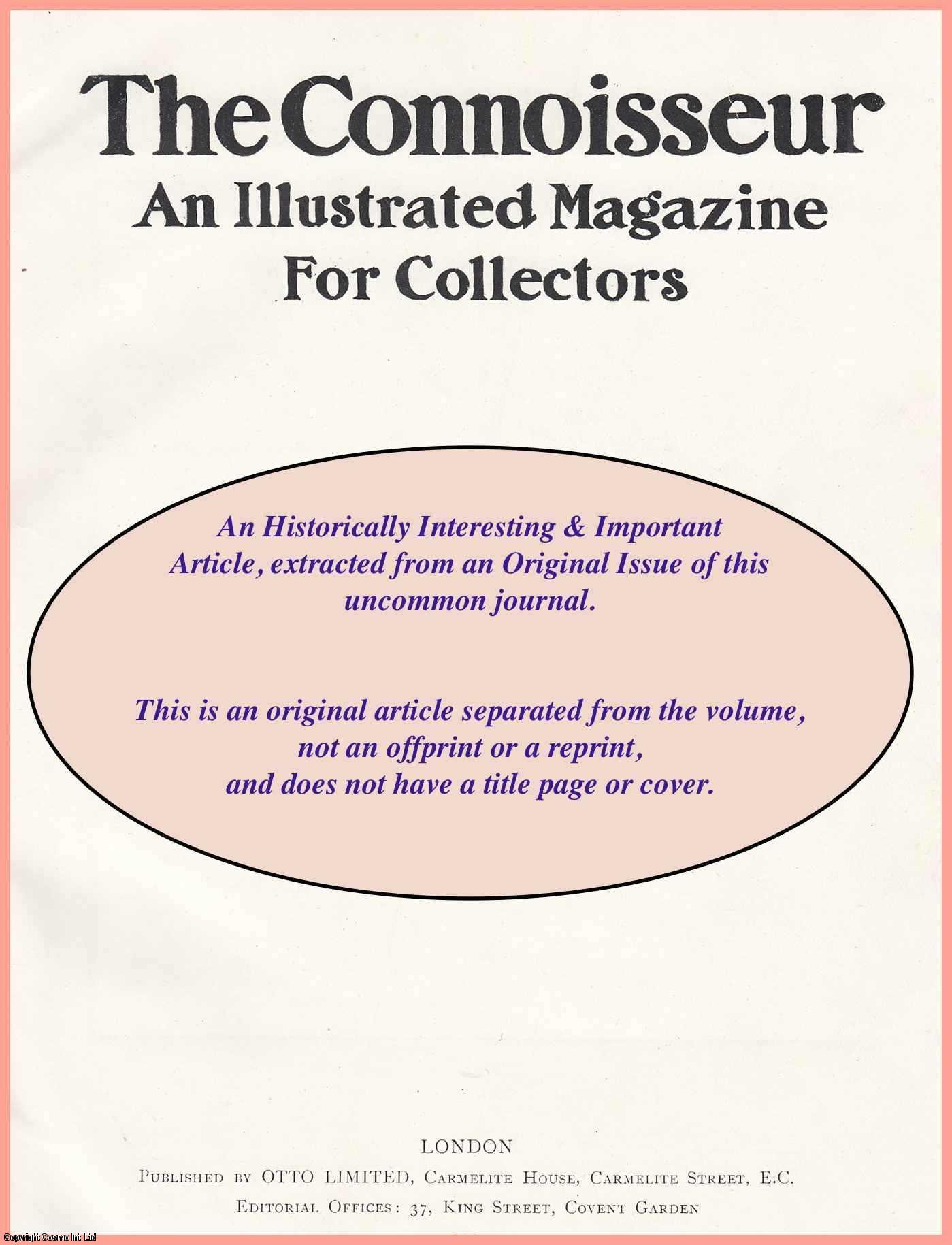 ---. - The Official Catalogue of Valuable Works of Art in Private Collections in Italy. An original article from The Connoisseur, 1904.