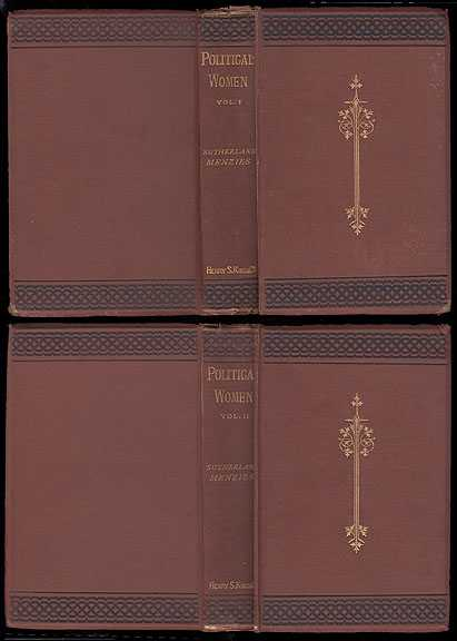 Political Women In Two Volumes, Menzies Sutherland