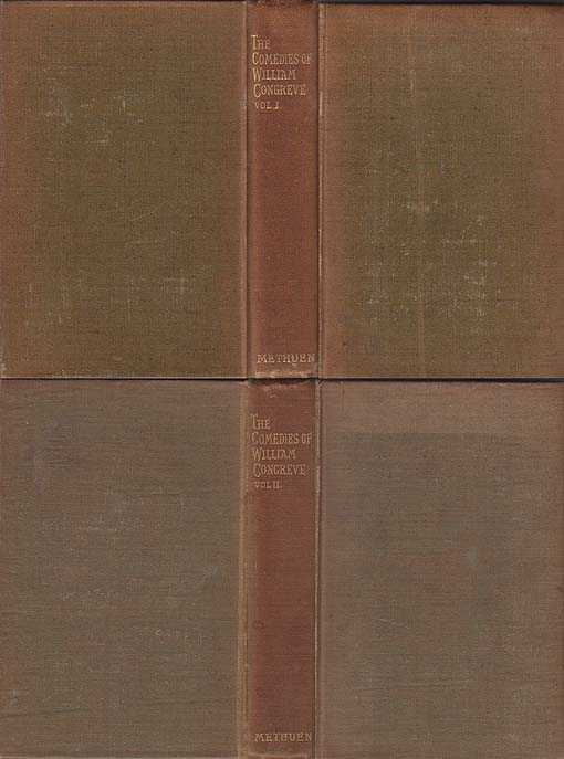 Comedies of William Congreve in Two Volumes, Congreve William [Edited W E Henley]