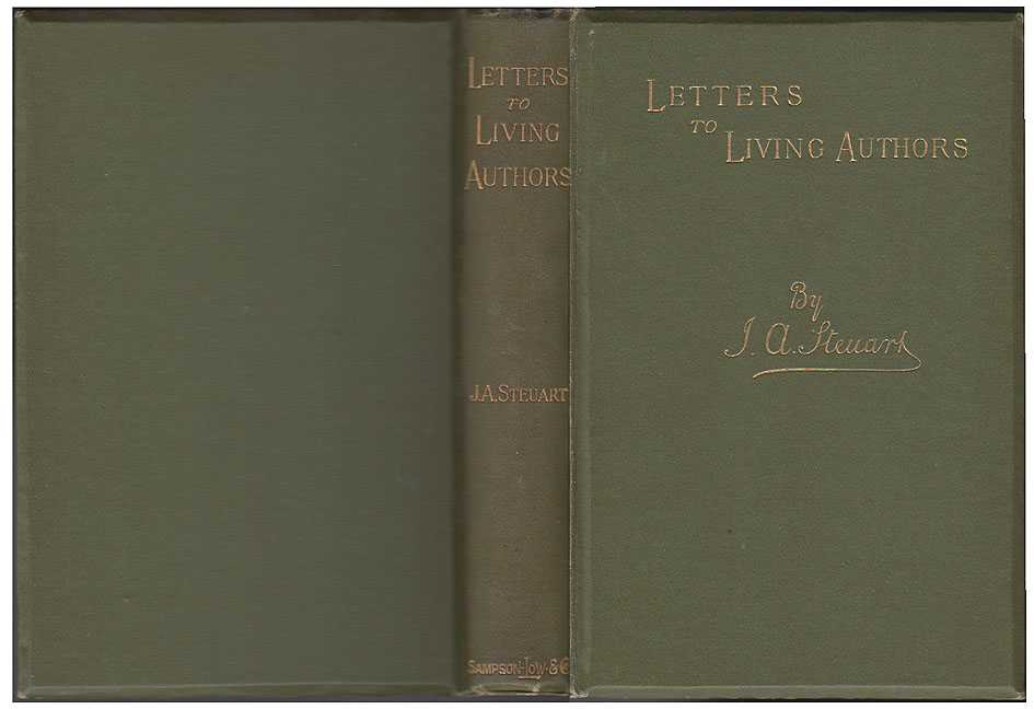 Letters to Living Authors, Steuart John A