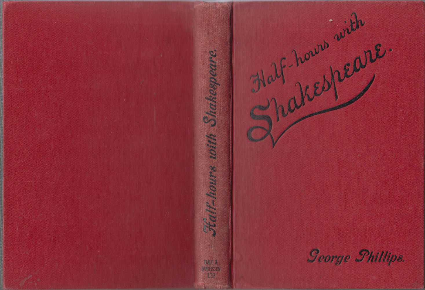 Half-Hours with Shakespeare, Phillips George