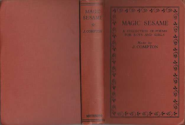 Magic Sesame : A Collection Of Poems For Boys And Girls, Compton [Made By], J