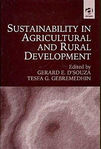 D'SOUZA, GERRARD - Sustainability in Agricultural and Rural Development