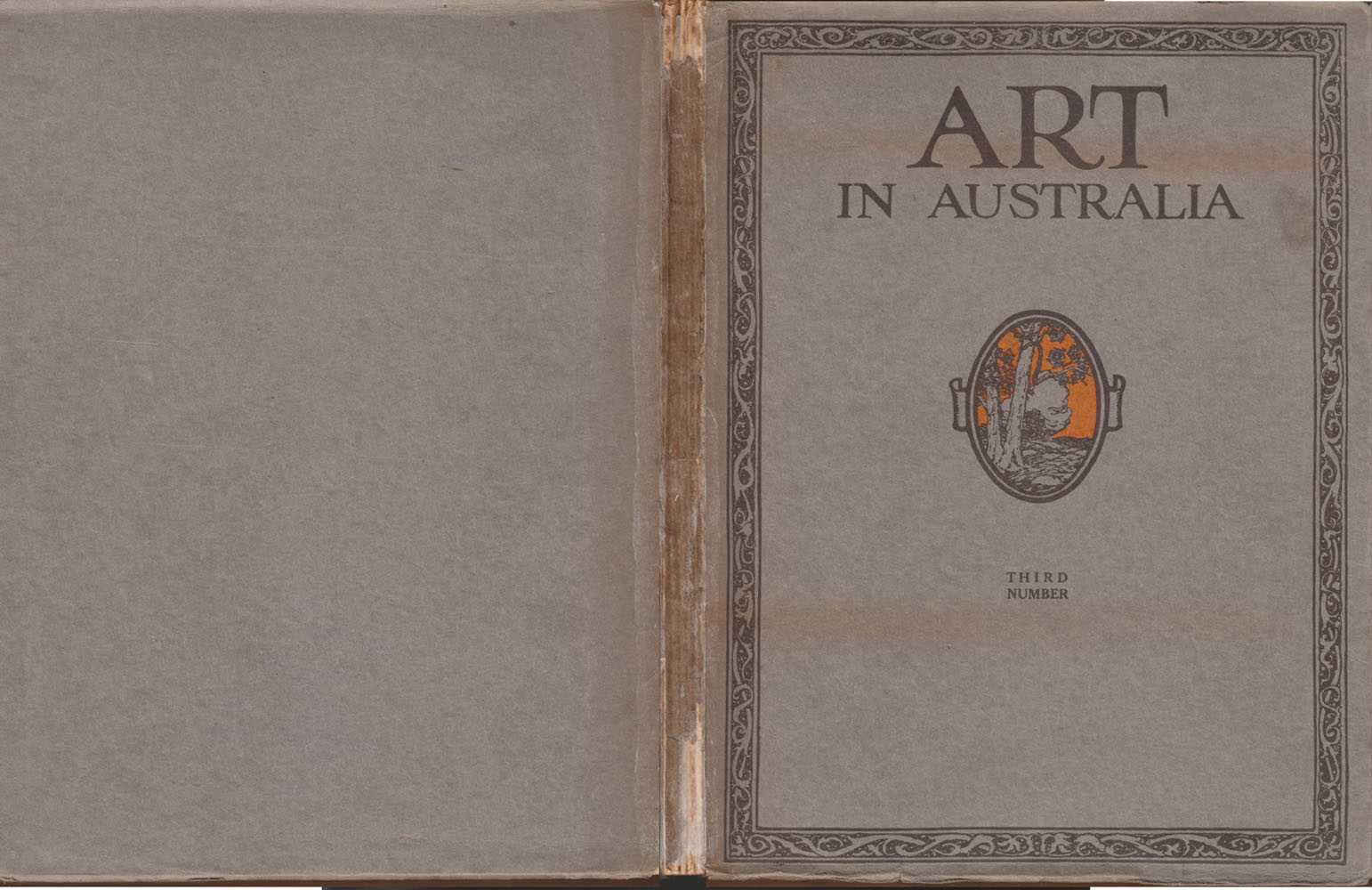 Art In Australia Third Number 1917, Smith, Stevens & Jones [Edited By], Sydney Ure & Bertram & C L