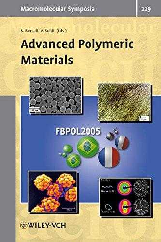 Advanced Polymeric Materials (Macromolecular Symposia), Soldi, Valdir (Editor)