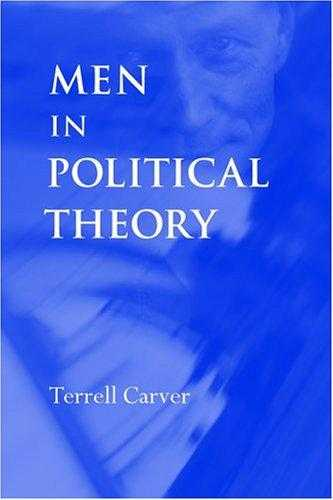 Men in Political Theory, Carver, Terrell