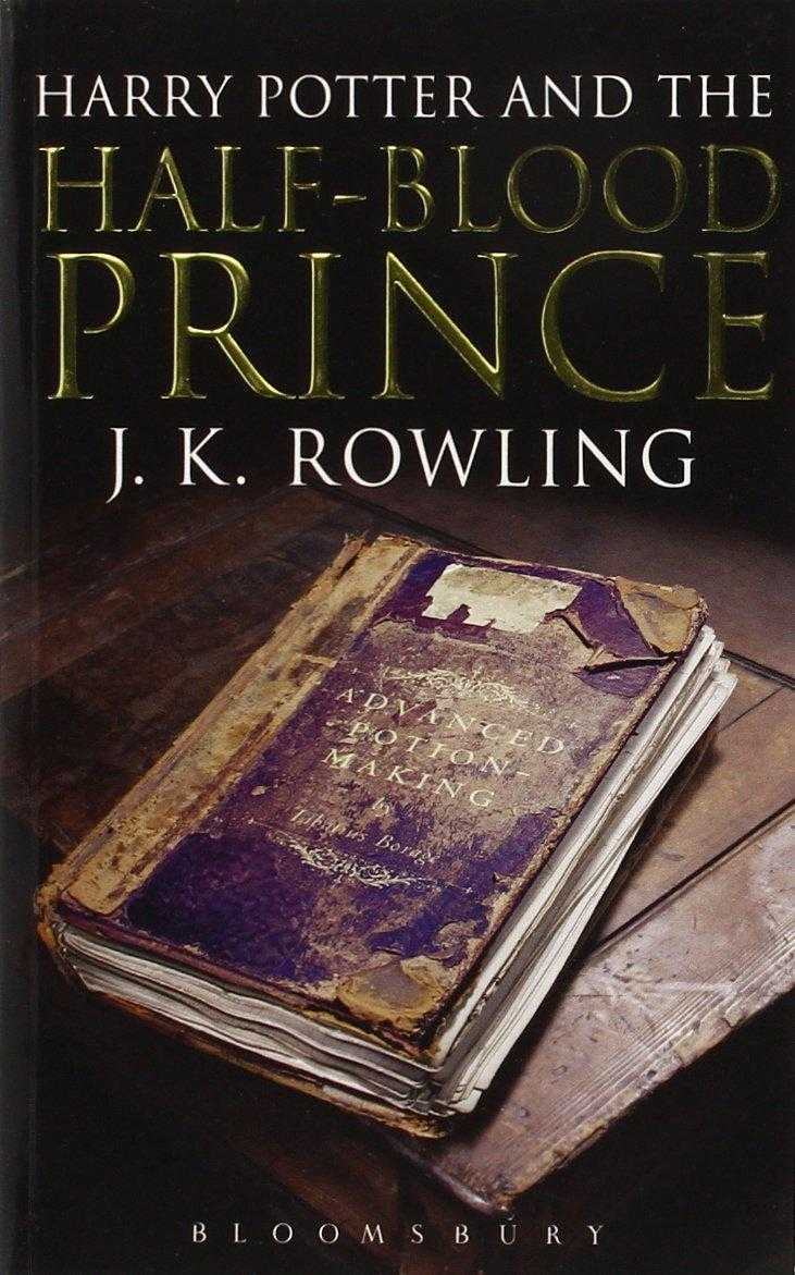 Harry Potter and the Half-Blood Prince (Harry Potter 6)[Adult Edition], Rowling, J. K.