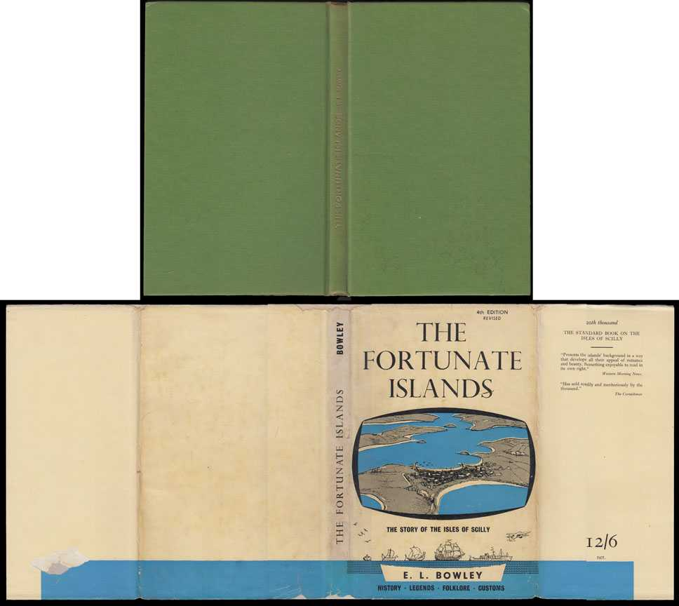 Fortunate Islands: The Story Of The Isles Of Scilly, Bowley, E L