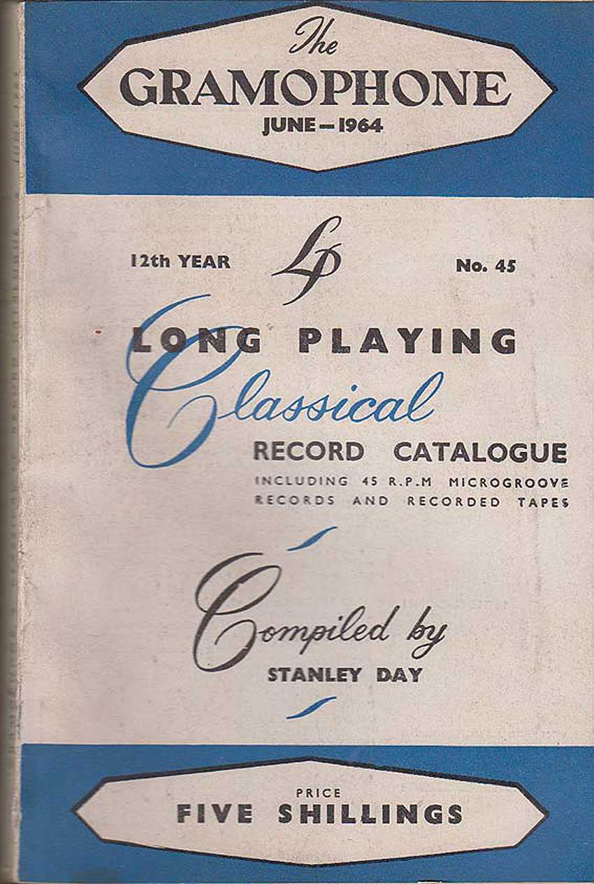 Gramophone June 1964 12 Year No. 45, Day [Compiled By], Stanley