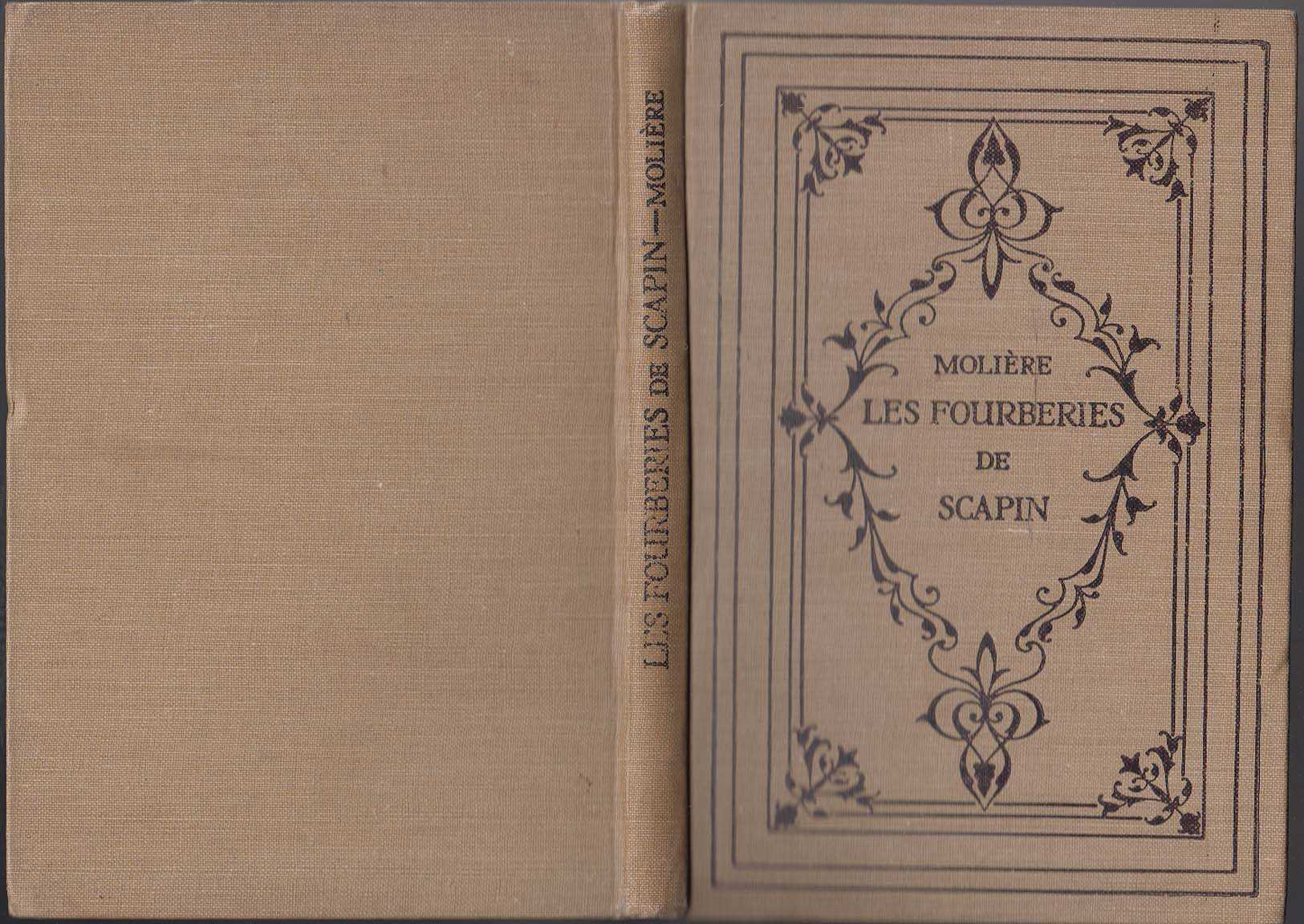 Molieres Les Fourberies De Scapin, Masson Gustave [Edited With Introduction And Notes]