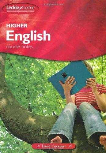 Leckie - HIGHER ENGLISH COURSE NOTES, Cockburn, David