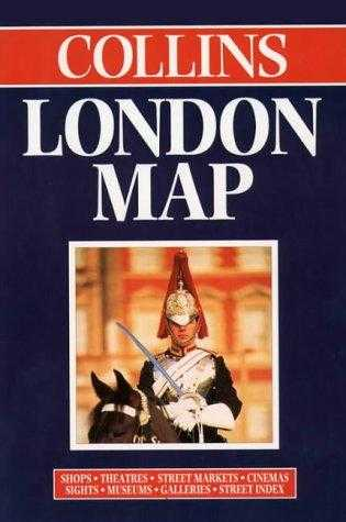 Collins London Maps and Atlases - London Map: Scale 1:17 500 (Street Map), Bartholomew