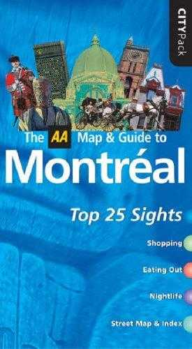 AA CityPack Montreal (AA CityPack Guides) by, Jepson, Tim
