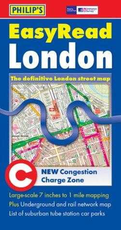 SON, GEORGE PHILIP & - London Easyread Street Map