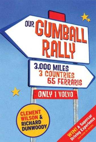 Our Gumball Rally, Dunwoody, Richard