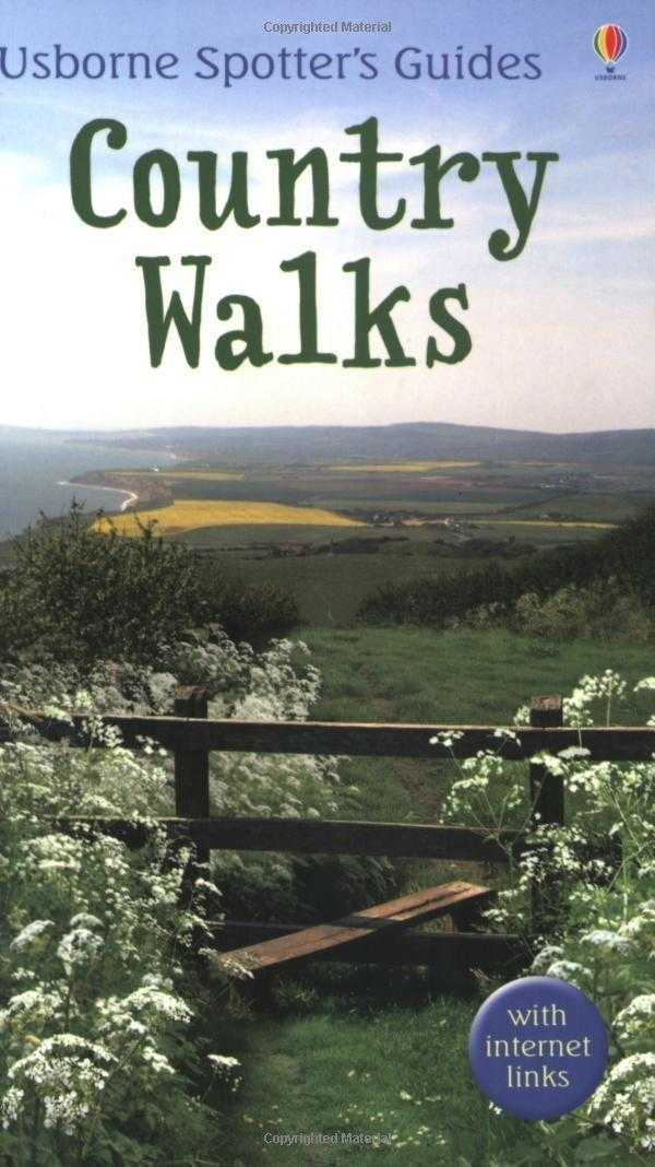 Country Walks (Usborne Spotter's Guide), Goaman, Karen
