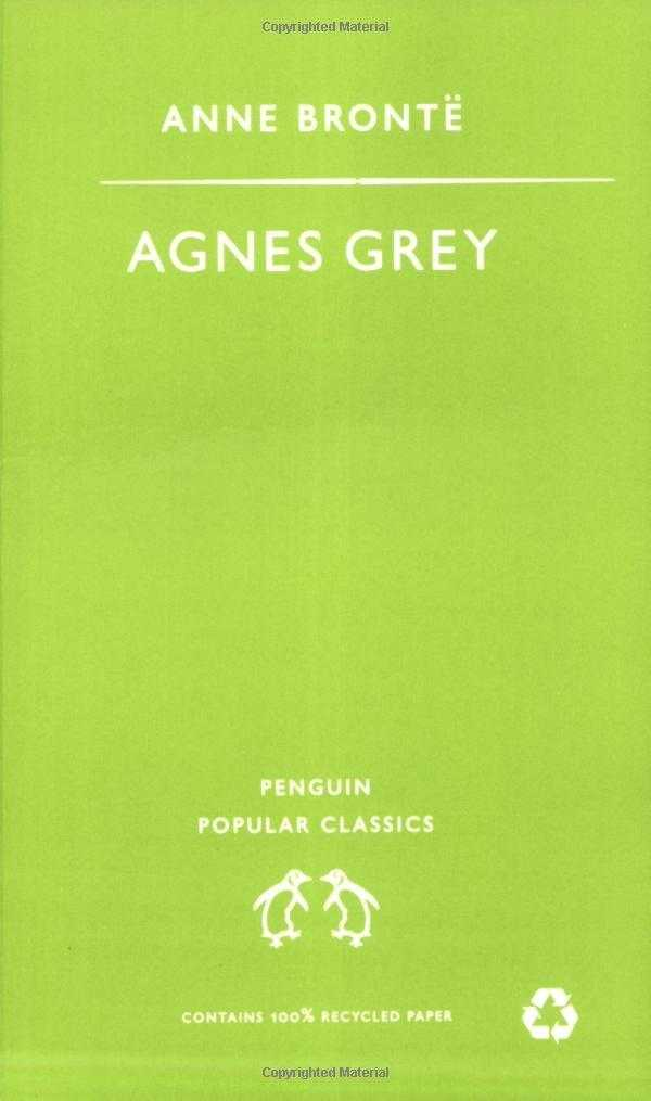 Agnes Grey: With a Memoir of Her Sisters, BrontÌÇ, Anne